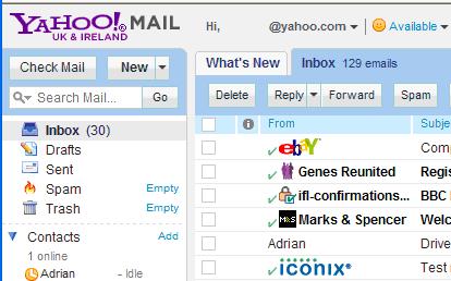 checkmark inbox