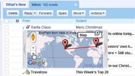 Santa email path