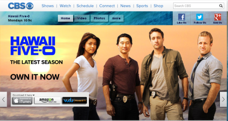 Hawaii Five-0 On CBS