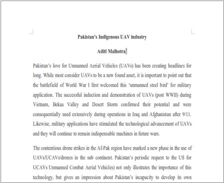 pakistani drones